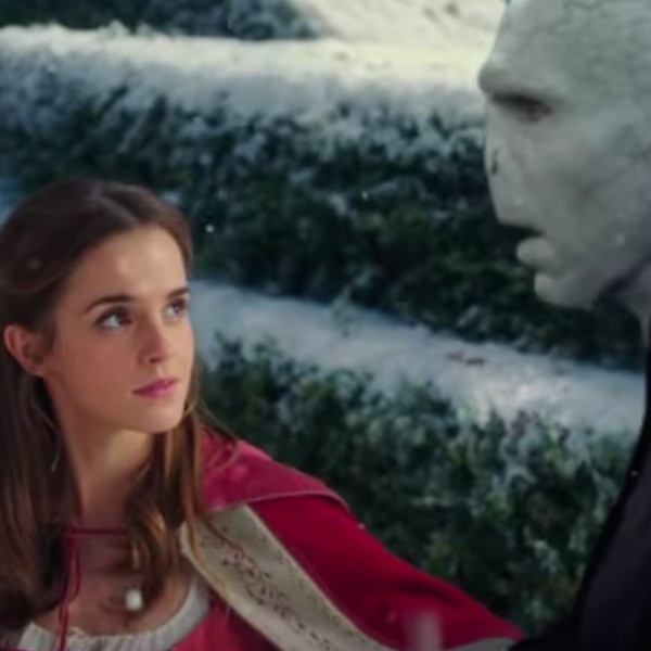 Emma Watson, Ralph Fiennes, Beauty and the Beast, Harry Potter, Mash-Up