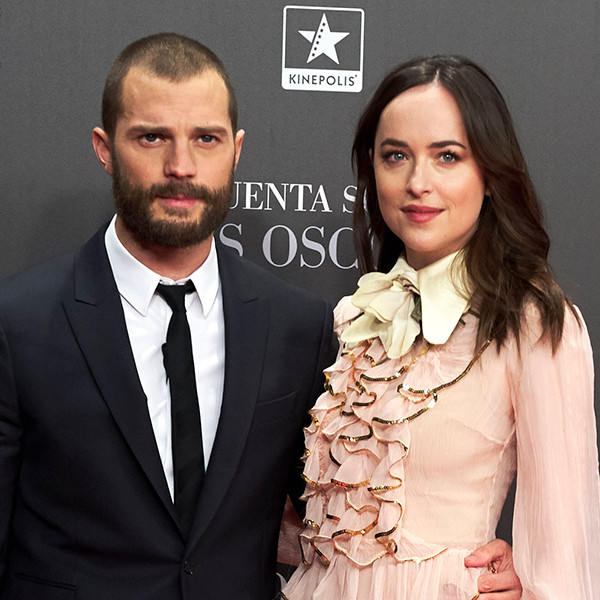 Dakota Johnson, Jamie Dornan, Fifty Shades Darker, World Press Tour