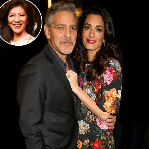 George Clooney, Amal Clooney, Julie Chen