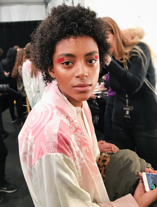 ESC: NYFW Fall 2017, Desiguel Backstage