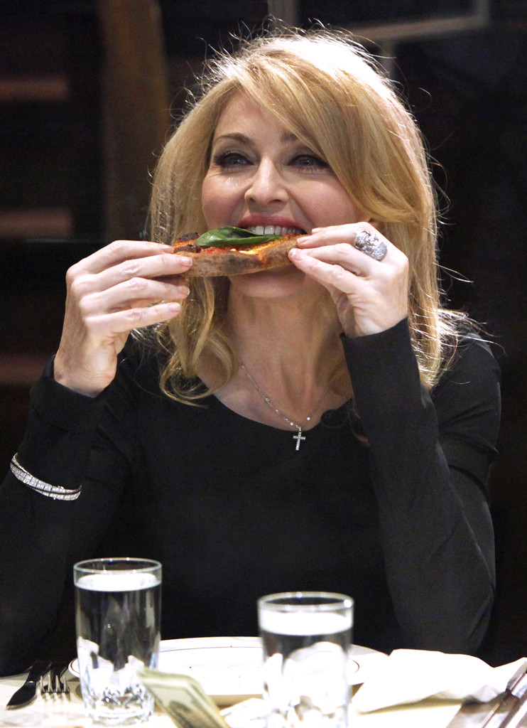 Madonna, Pizza
