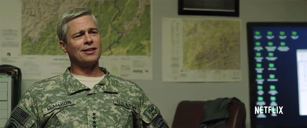 Brad Pitt, War Machine