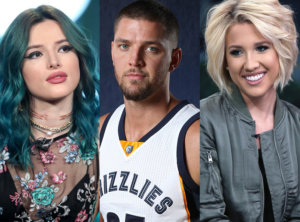 Bella Thorne, Chandler Parsons, Savannah Chrisley