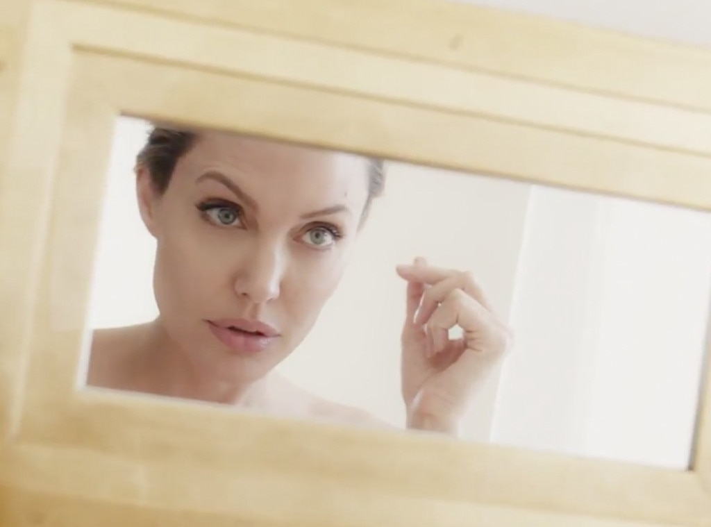 Angelina Jolie Is Absolutely Stunning In Sexy New Fragrance Ad For Guerlain