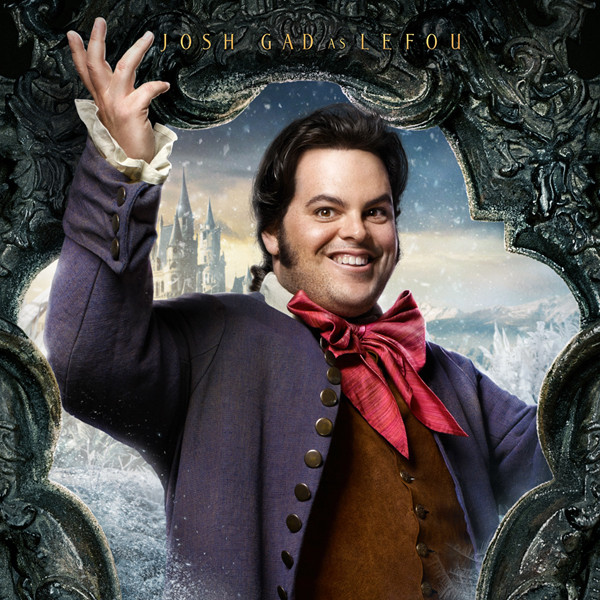 Josh Gad, Beauty and the Beast, Character Poster