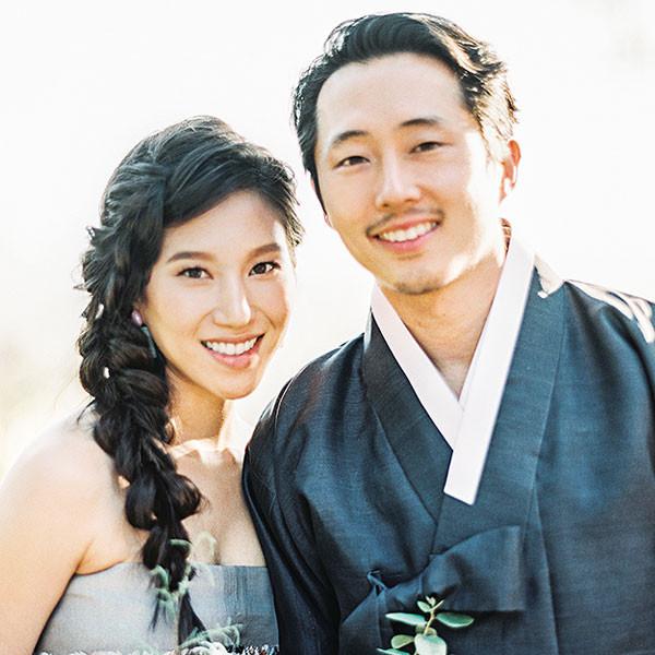 Steven Yeun, Walking Dead, Wedding