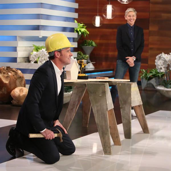Ellen DeGeneres Gives Scott Foley the Chance to Audition for His Dream Role