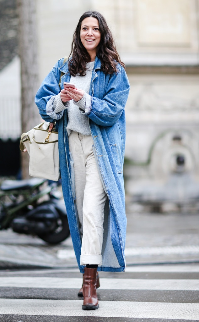 Photo 747199 From Best Street Style From Paris Fashion Week Fall 2017 E News