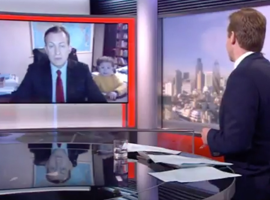 Robert Kelly, BBC Viral Video