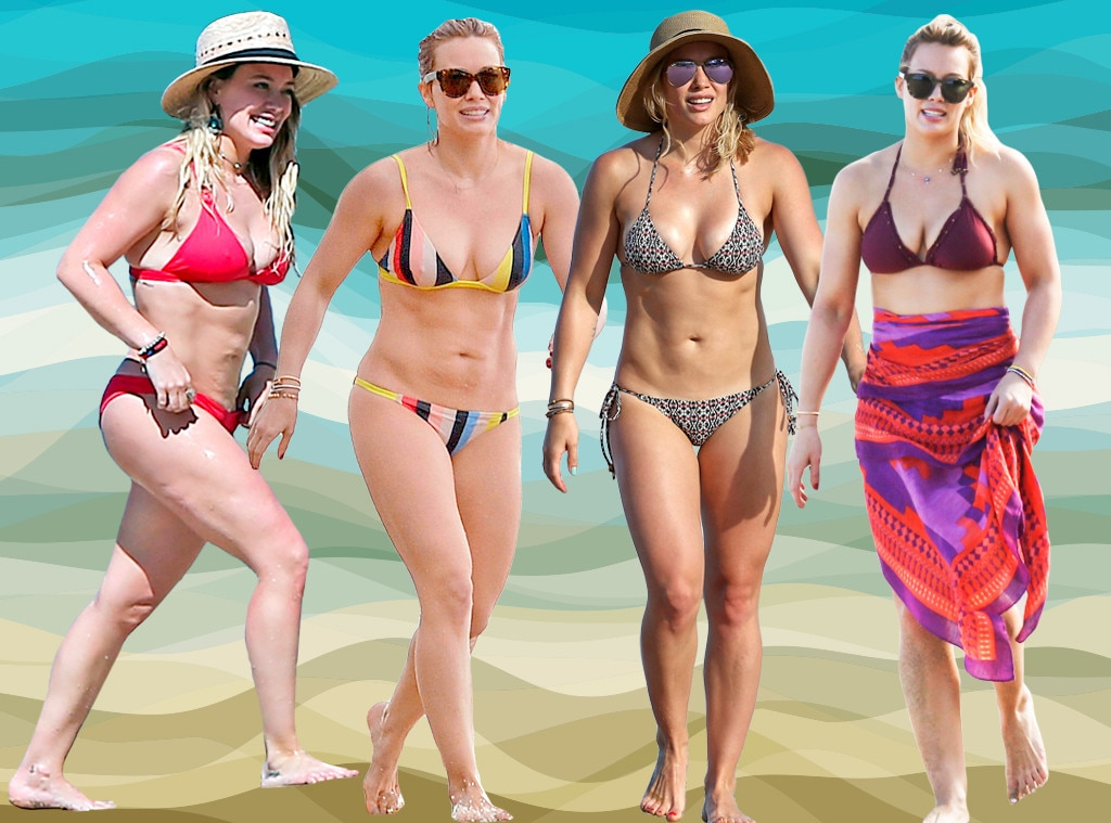 Hot Bodies Week, Bikini, Hilary Duff