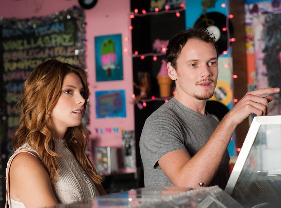 Anton Yelchin, Ashley Greene, Burying the Ex