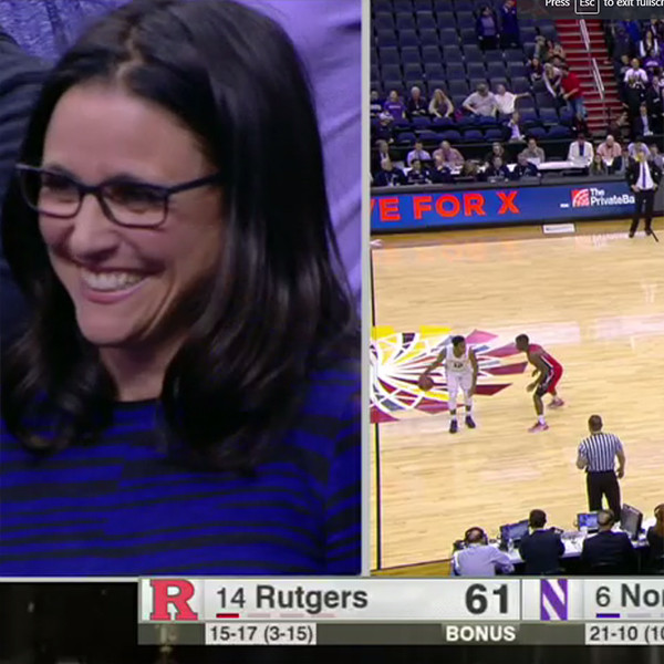 Julia Louis-Dreyfus, Son, Charlie Hall, Basketball