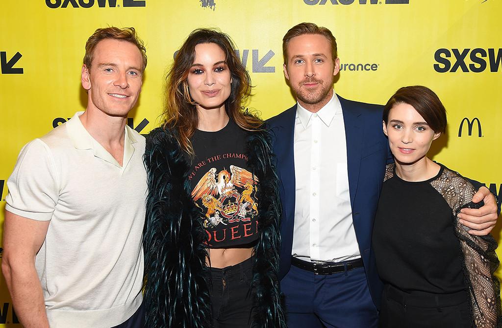 Michael Fassbender, Bernice Marlohe, Ryan Gosling, Rooney Mara, SXSW