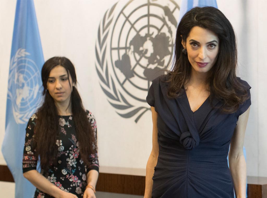 Amal Clooney, Nadia Murad