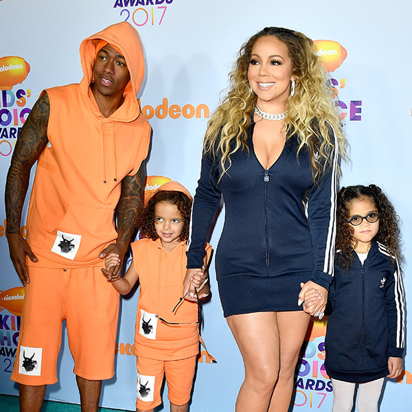 Nick Cannon, Mariah Carey, 2017 Kids Choice Awards, Arrivals