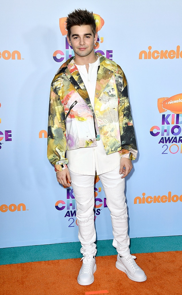 Jack Griffo from Kids' Choice Awards 2017: Red Carpet ...