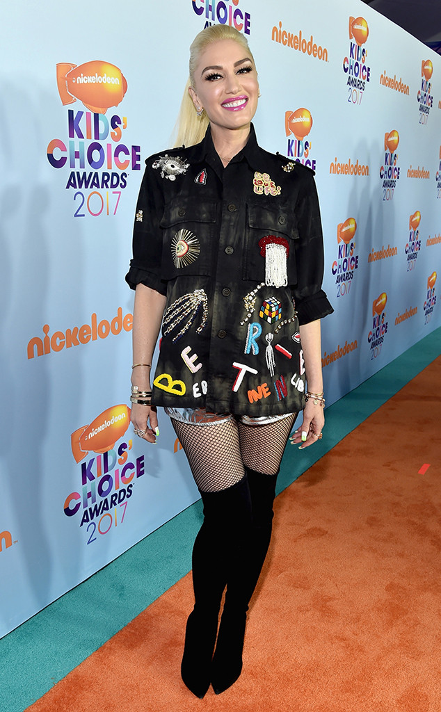 Gwen Stefani, 2017 Kids Choice Awards, Arrivals
