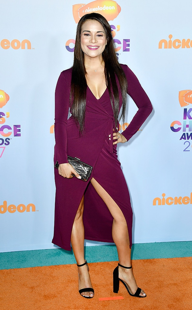 Alisa Reyes from Kids' Choice Awards 2017: Red Carpet ...