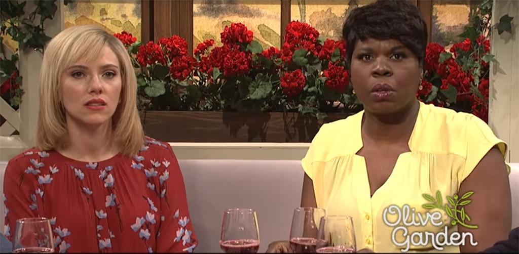 Scarlett Johansson, Leslie Jones, SNL