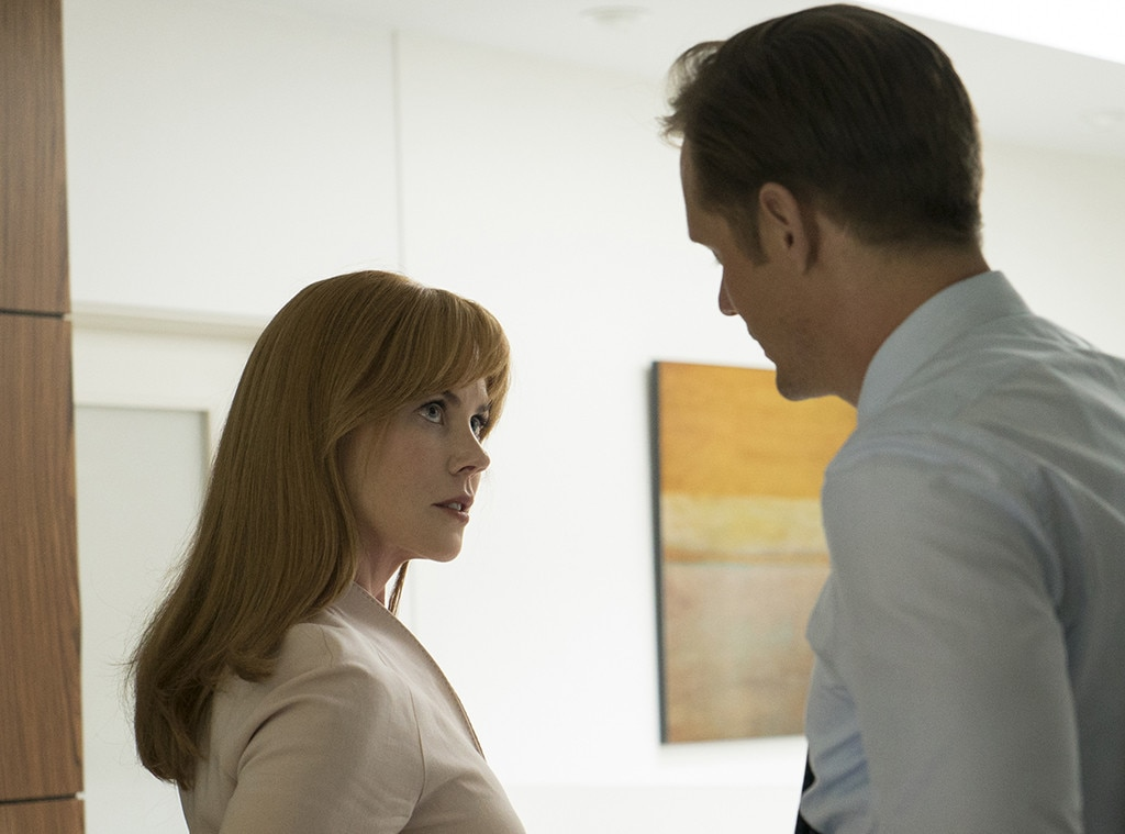 Nicole Kidman, Alexander Skarsgard, Big Little Lies