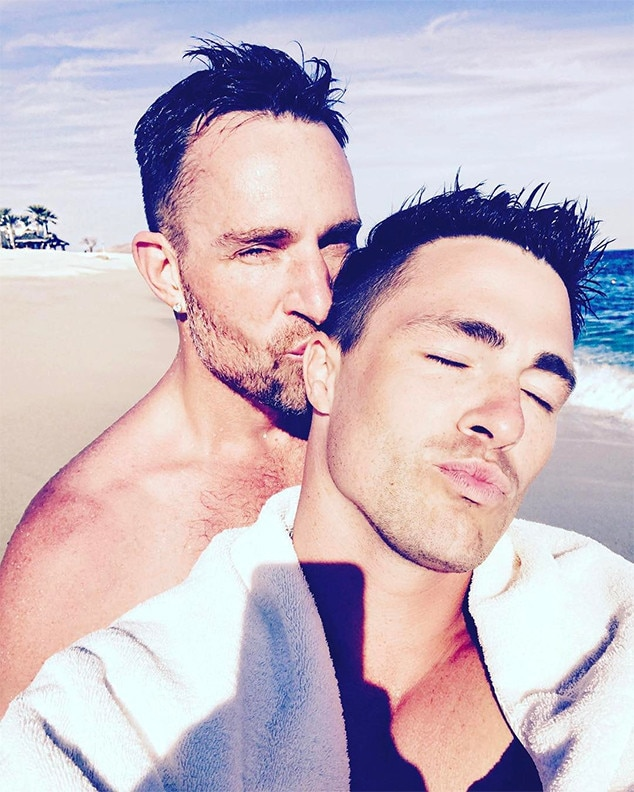 Colton Haynes and Jeff Leatham are engaged