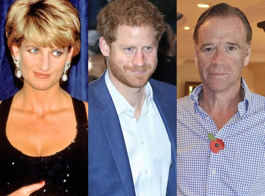 Princess Diana, Prince Harry, James Hewitt