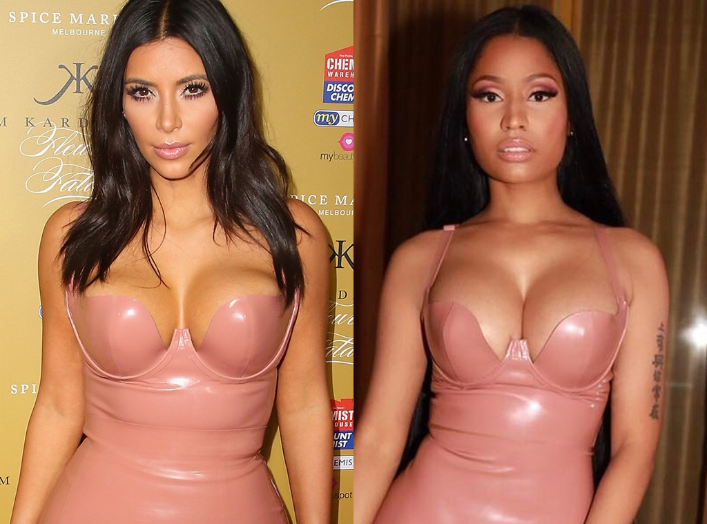 Kim Kardashian West, Nicki Minaj
