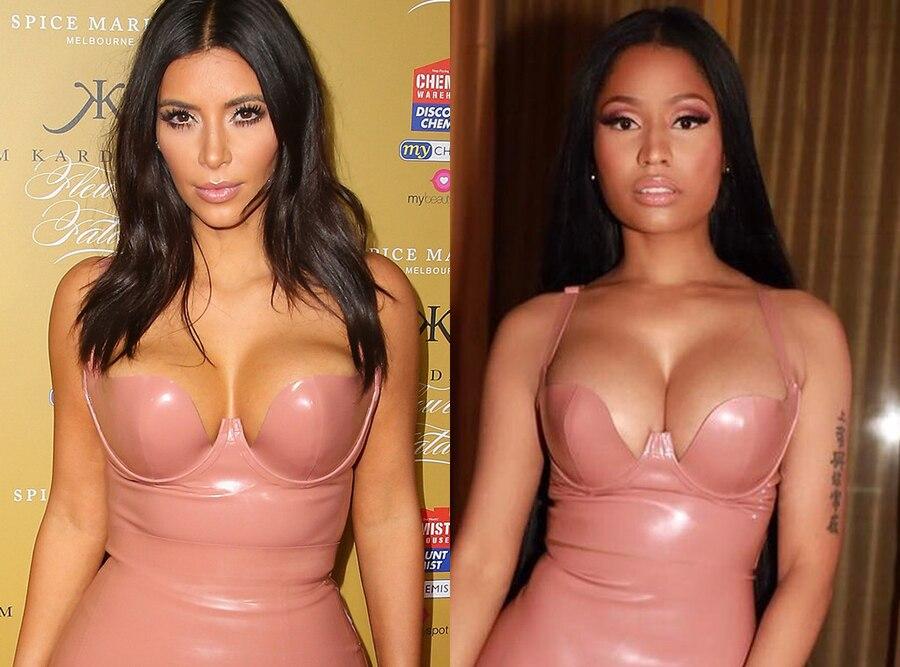 Kim Kardashian West, Nicki Minaj