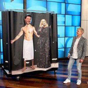 Luke Evans, The Ellen DeGeneres Show