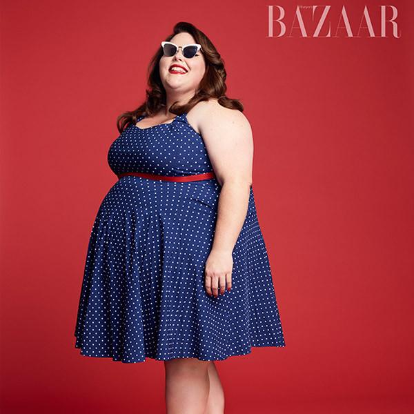 Chrissy Metz, HarpersBazaar.com