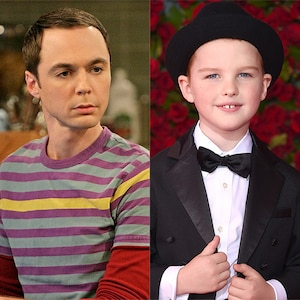 Jim Parsons, Big Bang Theory, Iain Armitage
