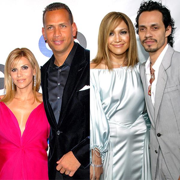 Jennifer Lopez, Marc Anthony, Alex Rodriguez, Cynthia Rodriguez