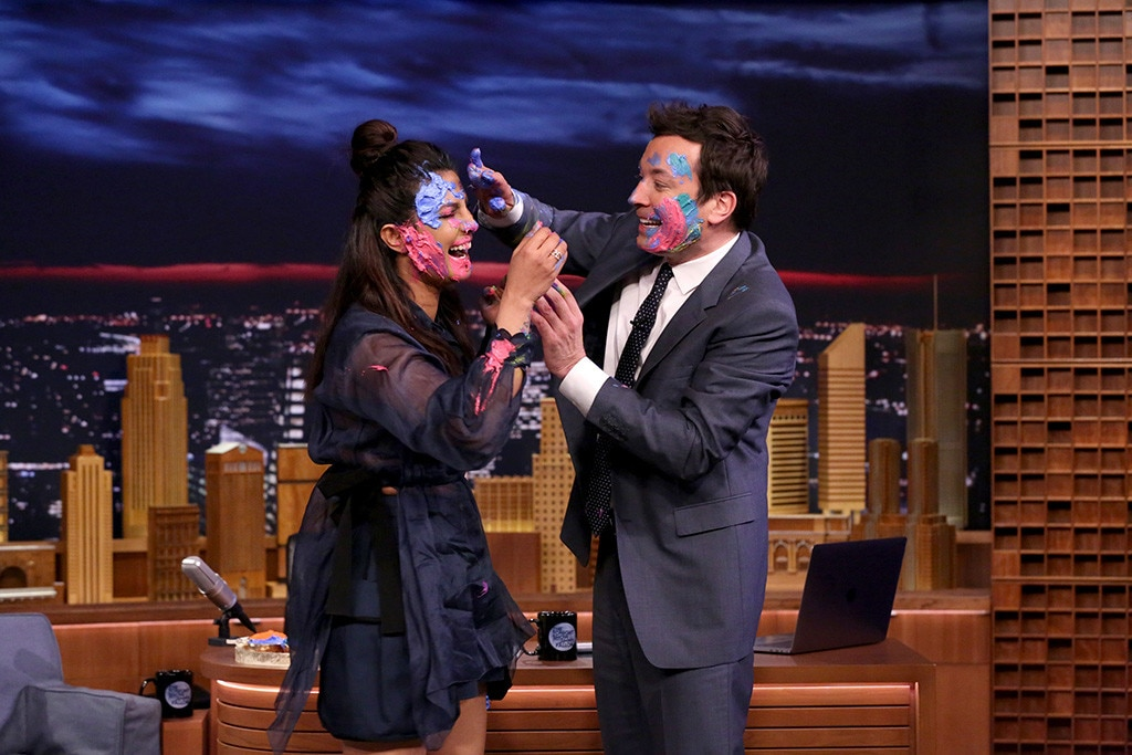 Priyanka Chopra, Jimmy Fallon, The Tonight Show