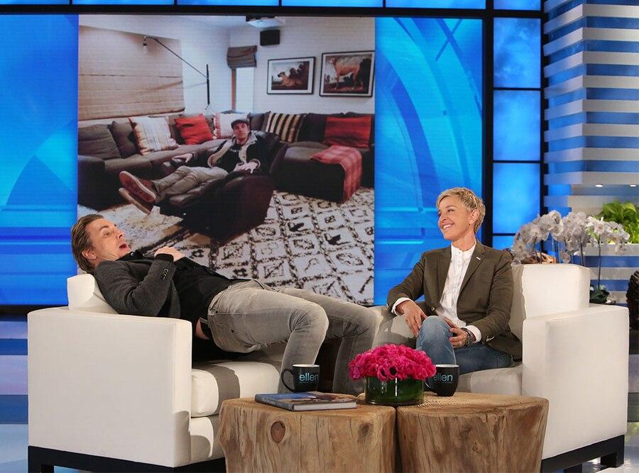 Dax Shepard, Ellen DeGeneres