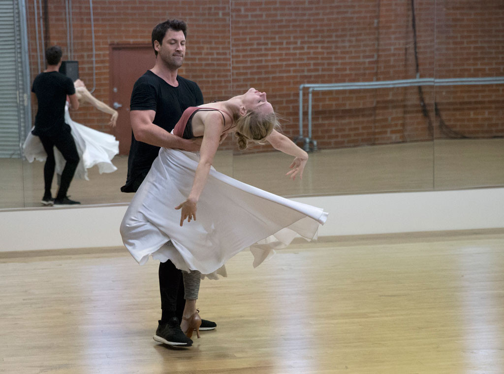 Dancing With the Stars Season 24, Heather Morris and Maksim Chmerkovskiy