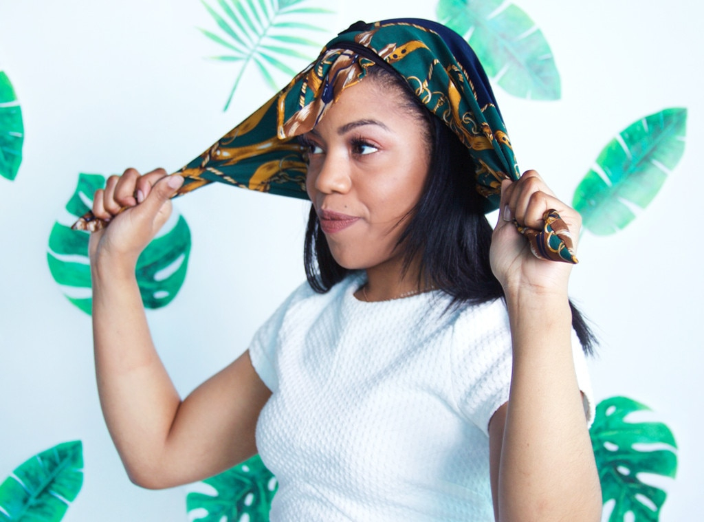 how to wear a headwrap