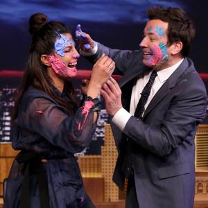 Priyanka Chopra, Jimmy Fallon, The Tonight Show