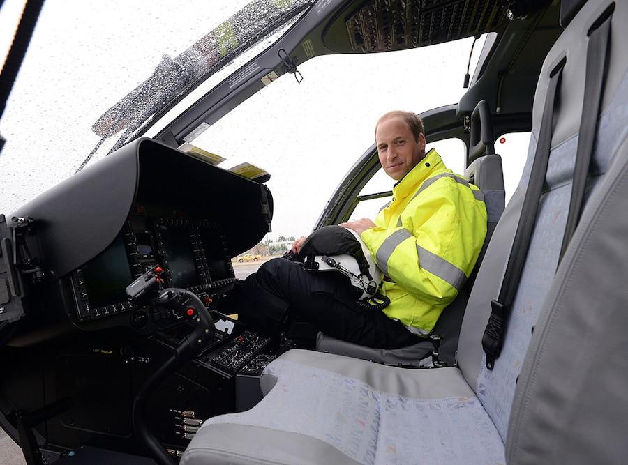 Prince William, Pilot