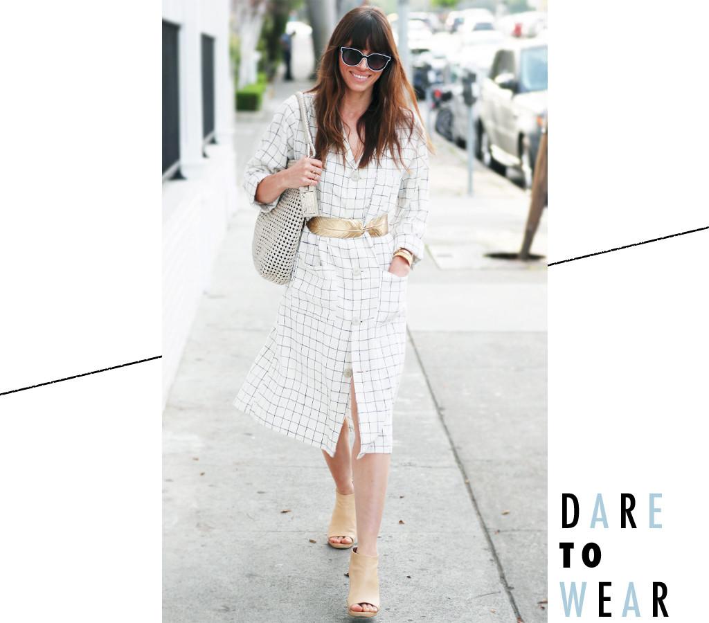 ESC: Jessica Biel, Dare to Wear
