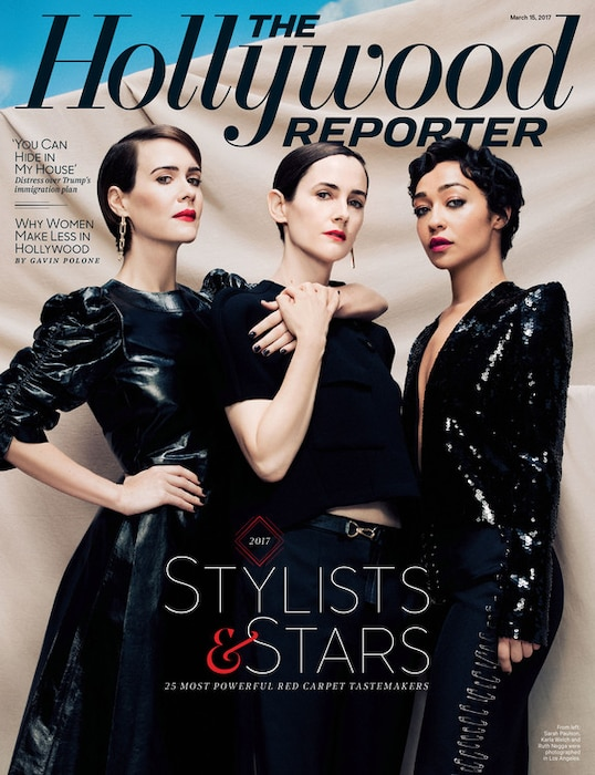 ESC: Hollywood Reporter, Sarah Paulson, Ruth Negga, Karla Welch