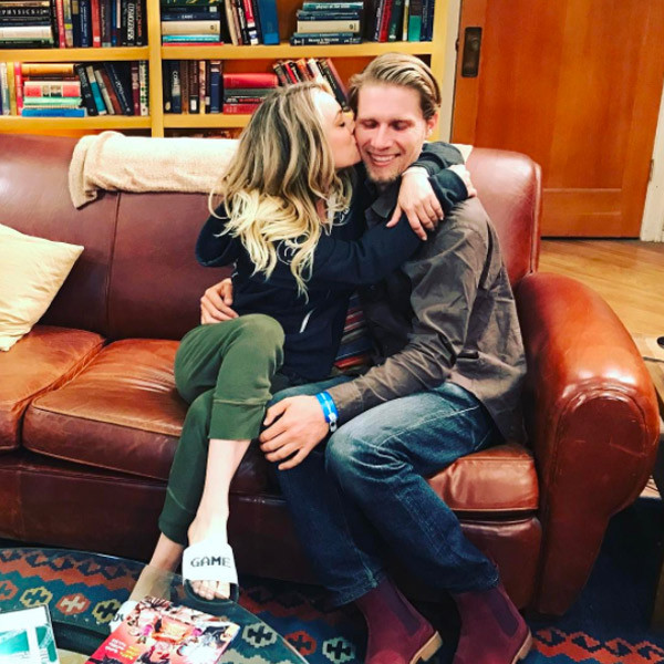 March Comes In Like And Goes Out Like >> Kaley Cuoco's Boyfriend Karl Cook Cozies Up to Her Ex Johnny Galecki | E! News