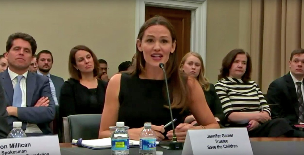 Jennifer Garner, House Subcomittee Hearing