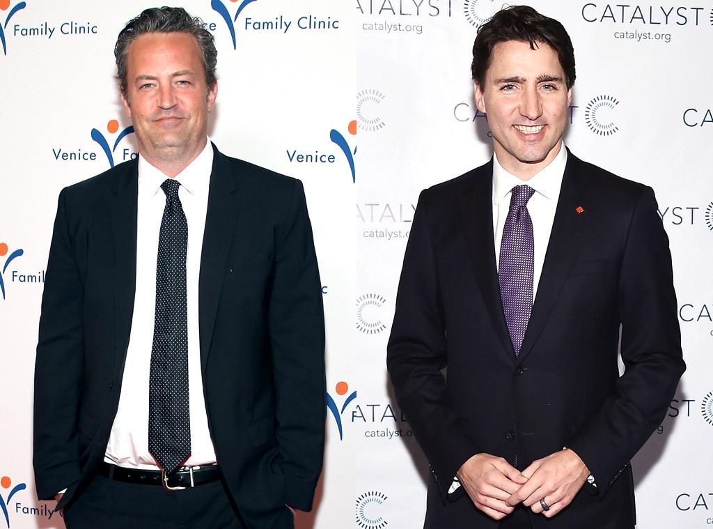 Matthew Perry, Justin Trudeau