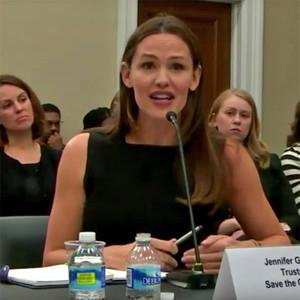 Jennifer Garner, House Subcomittee Hearing