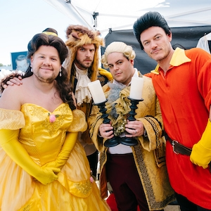 The Late Late Show, Beauty and the Beast