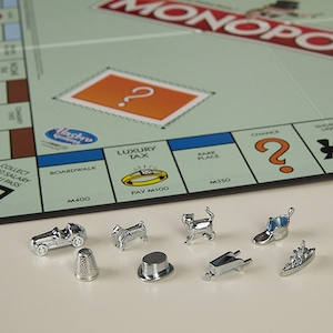 Monopoly, Game Board, Game Pieces