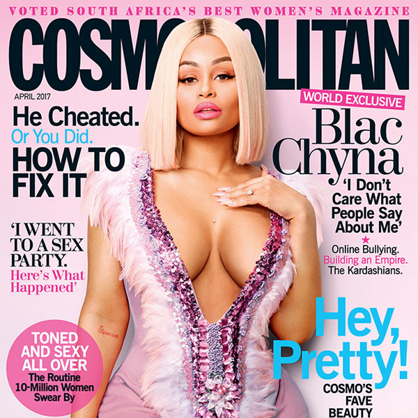 Blac Chyna's Sexy <i>Cosmo</i> South Africa Pics