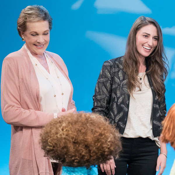 Sara Bareilles, Julie's Greenroom, Julie Andrews