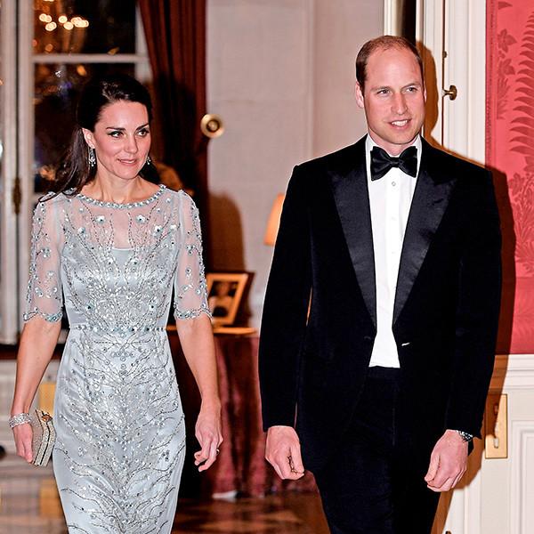 Kate Middleton and Prince William Visit Paris