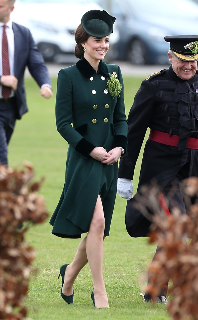 ESC: Kate Middleton, St. Patrick's Day 2017